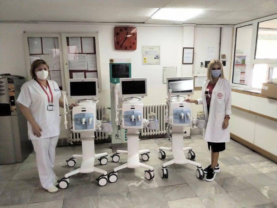 Германија донира респиратори за македонските клиники