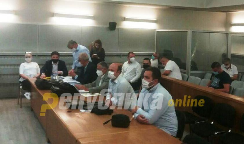Судот ги отфрли сите предложени сведоци од одбраната за настаните во општина Центар
