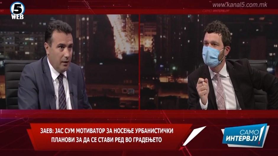 Заев отворено призна: Јас им кажав на советниците во Тетово така да гласаат за новиот ДУП