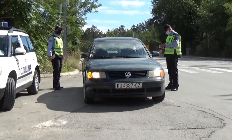 Казнети 411 возачи во Скопје, МВР продолжува со санкциите
