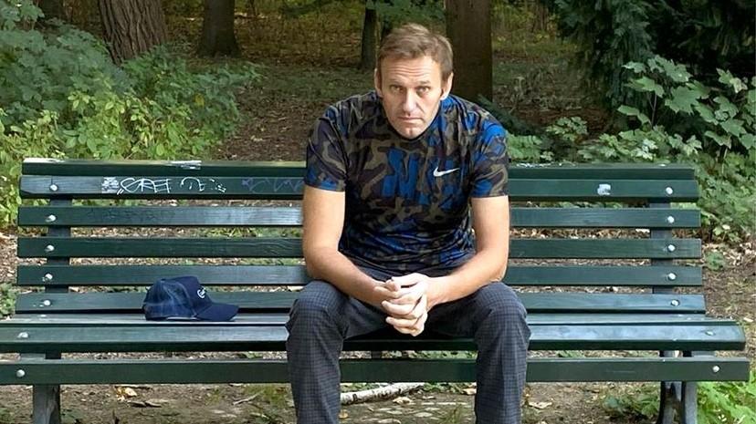 Навални објави фотографија од непозната локација споделувајќи детали од летот од Сибир