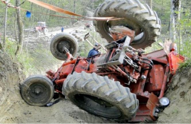 Загина тракторист
