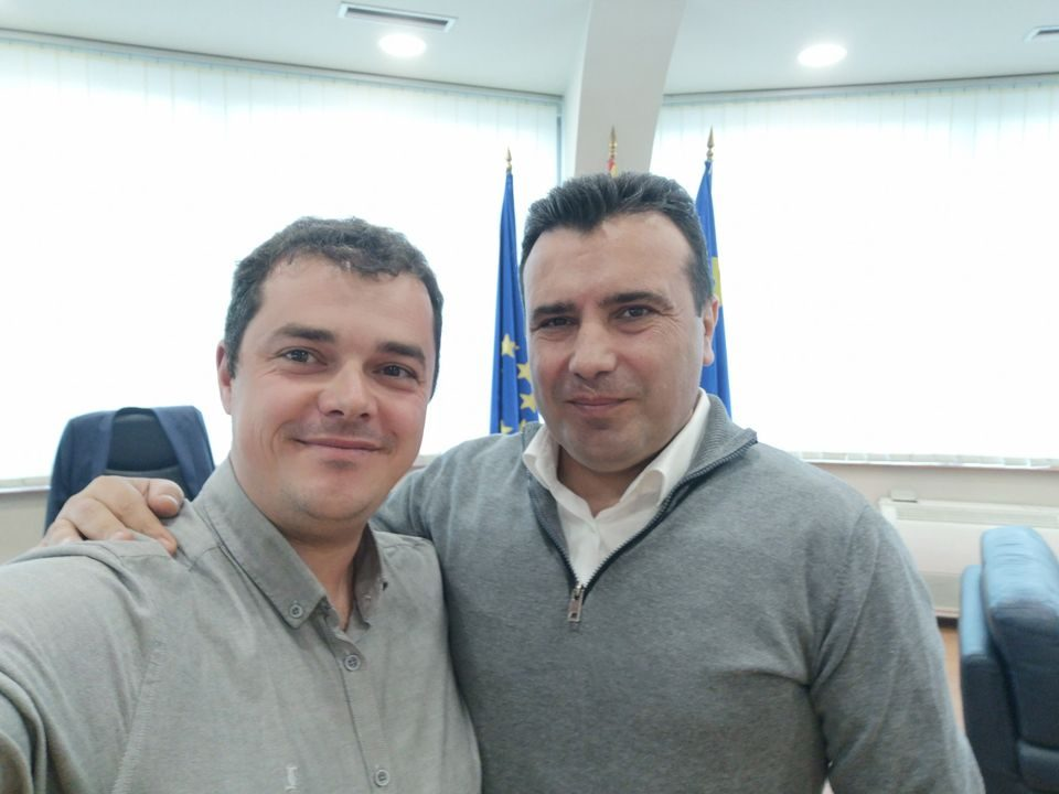 Директорот Андоновски позитивен на ковид-19, во петокот бил на прослава со Заев, Николовски и Филипче