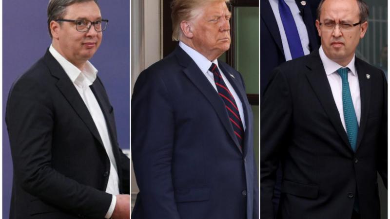 Вучиќ и Хоти се прегрнувале во Белата куќа, тврди Трамп
