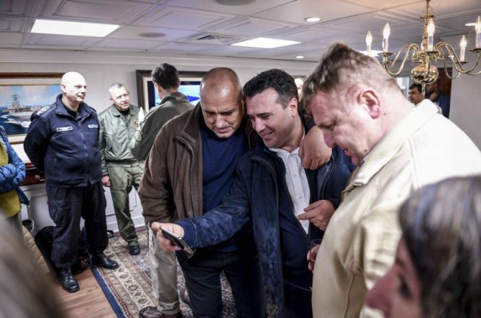 Заев: Борисов не е пречка за Македонија, Каракачанов ја сака на погрешен начин