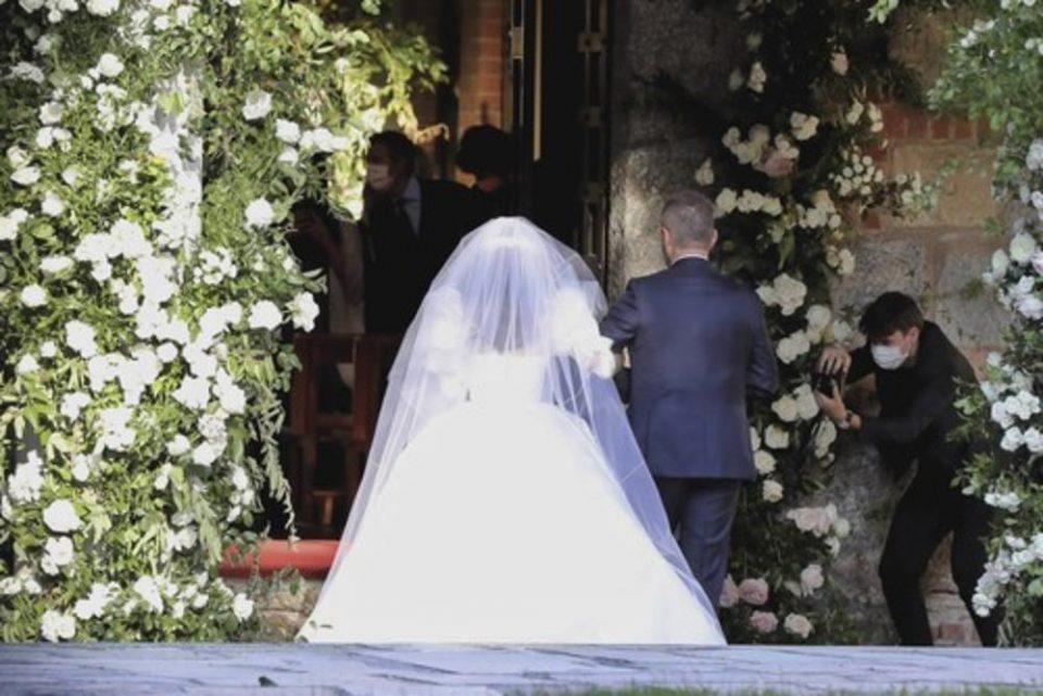 Свадба под маски: Се ожени синот на Силвио Берлускони