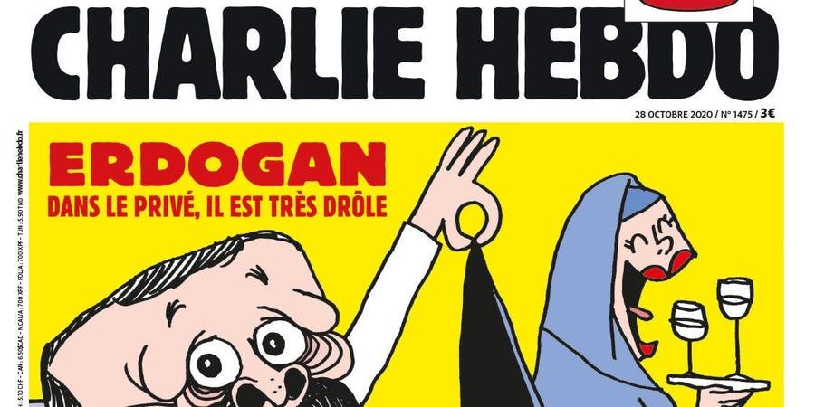 Турција ќе го тужи Шарли Ебдо