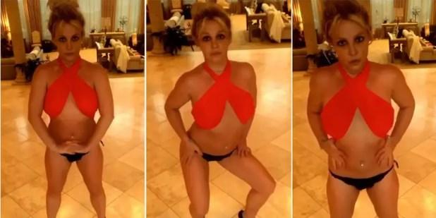 Во што се претвори: Бритни Спирс прави неконтролирани движења, сите мислат дека е дрогирана