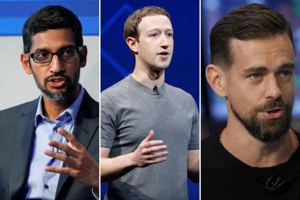 Извршните директори на Фејсбук, Твитер и Гугл ќе бранат клучен закон пред Сенатот на САД