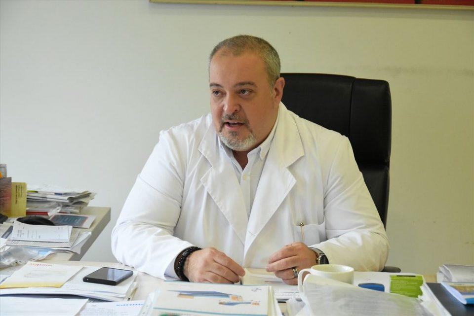 """Д-р Анѓелчо Андоновски: Доколку болничките кревети во Инфективна и во модуларната болница се полни, болните ќе се праќаат во """"Козле"""""""