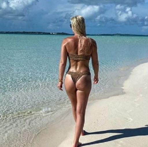 """Пензионерката"" Линдзи Вон го сонча задникот на Бахамите"