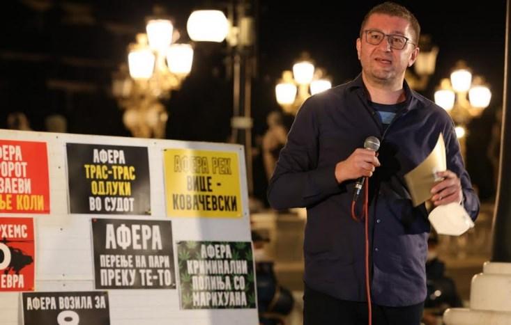 Мицкоски: Гордана Јанкуловска ја однесоа во затвор за мерцедесот, а мерцедесот го возат сами тие