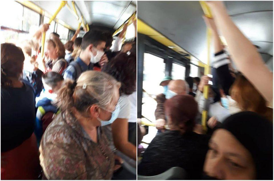 Шилегов: Во автобусите се почитува мерката за исполнетост на капацитетот