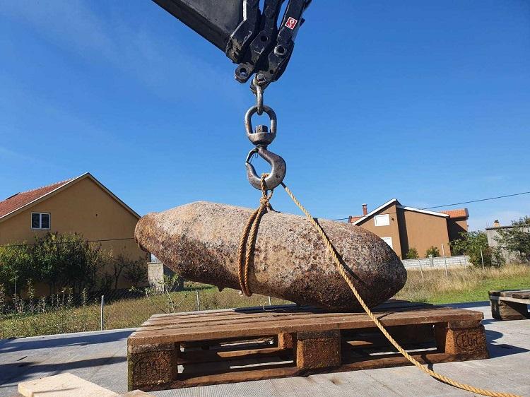 Отстранета џиновска бомба од Втората светска војна
