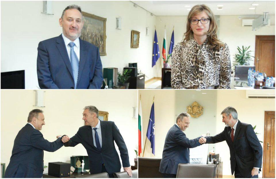 ВМРО-НП: Георгиевски во Бугарија се обиде да објасни дека односите имаат напредок
