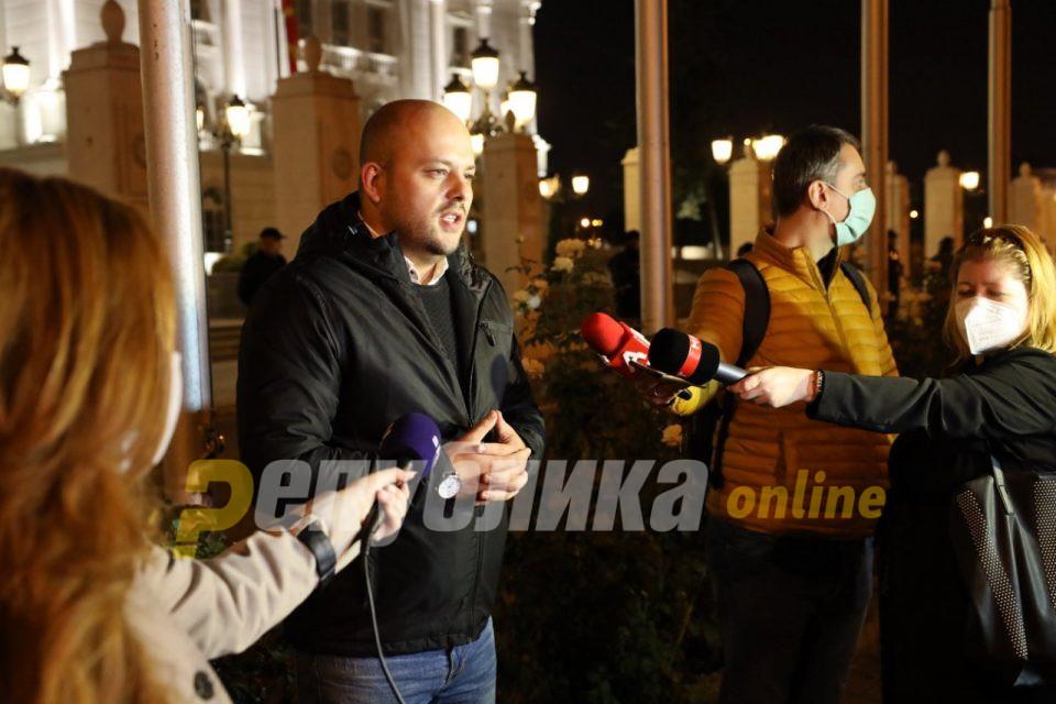 Костовски: Прогонот и политичката репресија од криминалците на власт мора да запрат