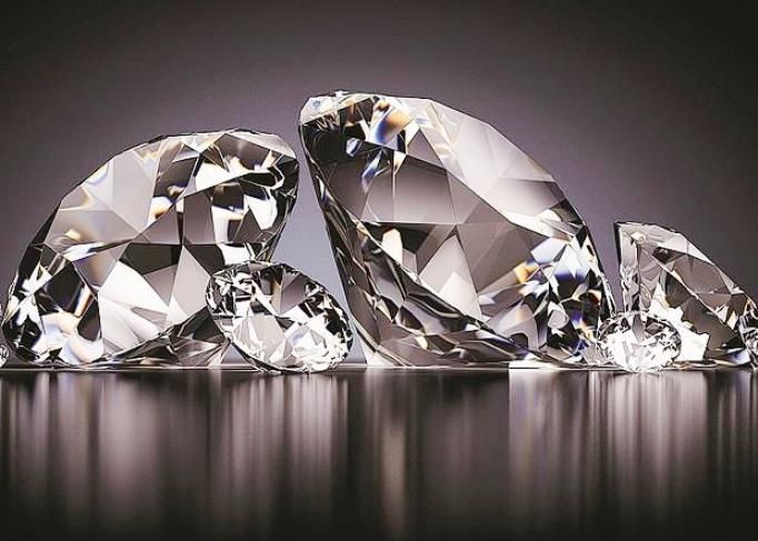 Извозот на дијаманти во светот падна за една четвртина
