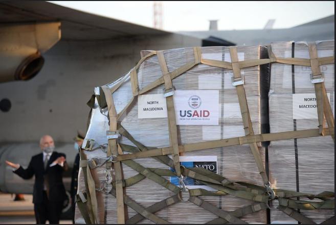 Сојузничка солидарност на дело: Примена НАТО донација од 60 респиратори во вредност од 1,4 милиони евра