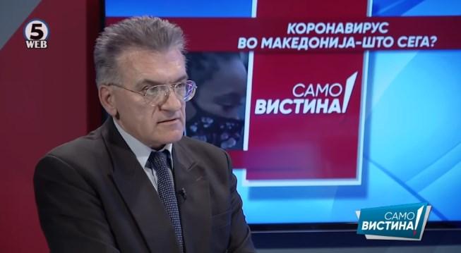 Даниловски: Глупо е да се носи маска на отворено