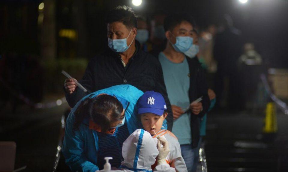 Поради само еден позитивен случај Кина почна масовно тестирање на цел град