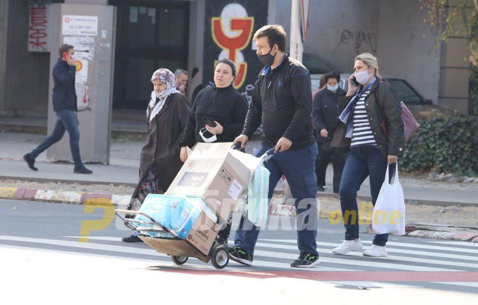Пешаците на мета на полицијата, само вчера казнети 249 граѓани