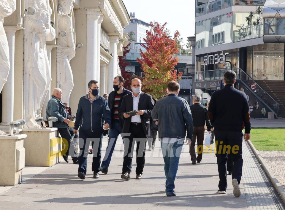 Изречени 704 санкции за неносење маска