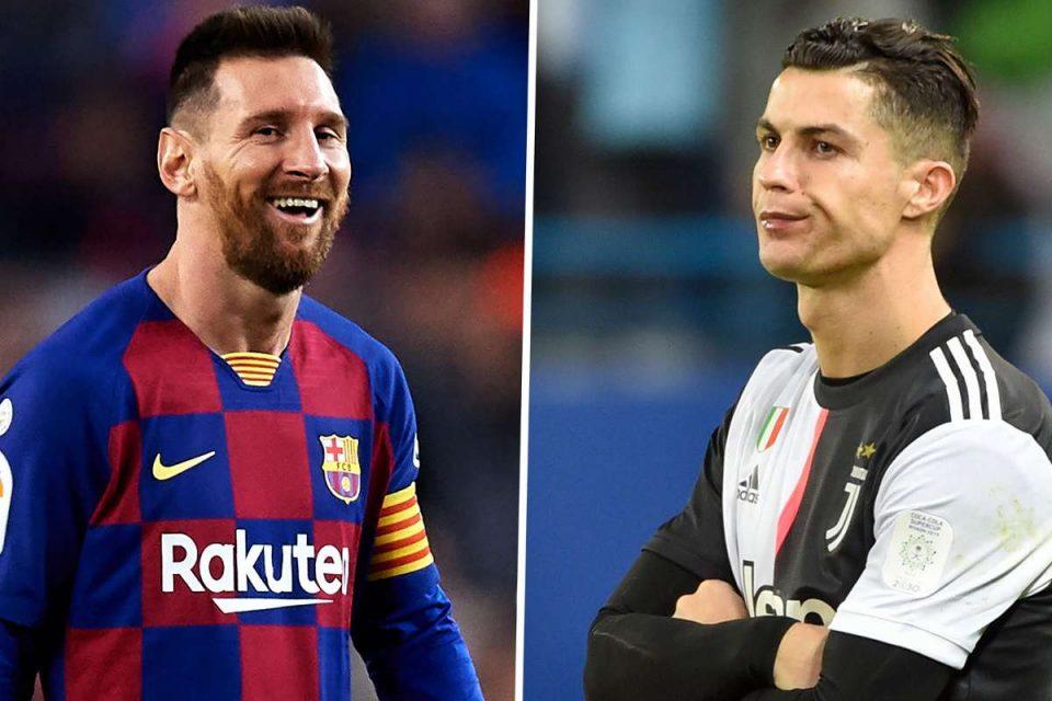 Пред гостувањето кај Јувентус, Меси му посака на Роналдо побрзо да оздрави