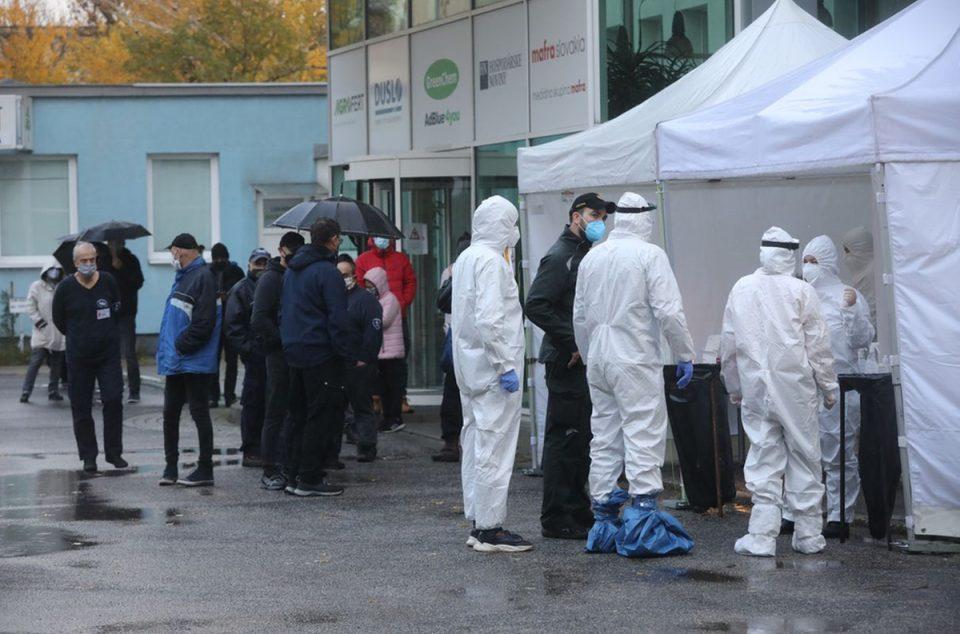 Во Словачка почна масоно тестирање на населението за Ковид-19