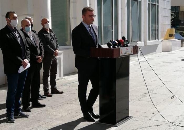 Мицкоски: Лидерска средба за преговорите со Бугарија