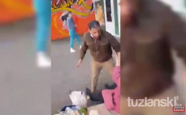Мигрант крвнички нападна жена во Тузла