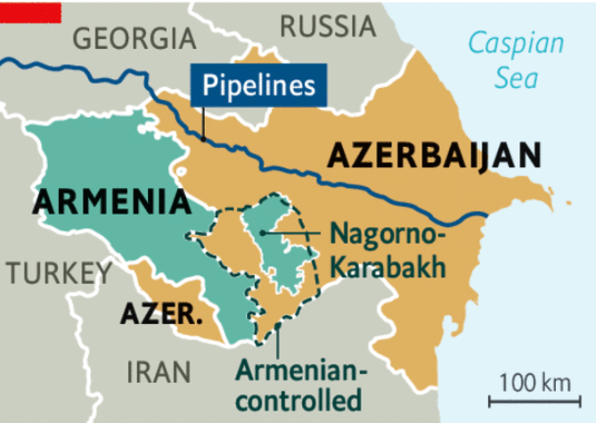 Путин ќе ги помирува: Ерменија и Азербејџан на разговори во Москва за Нагорно Карабах