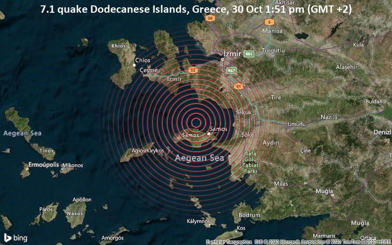 Грција ја потресе земјотрес со јачина од 6,7 степени