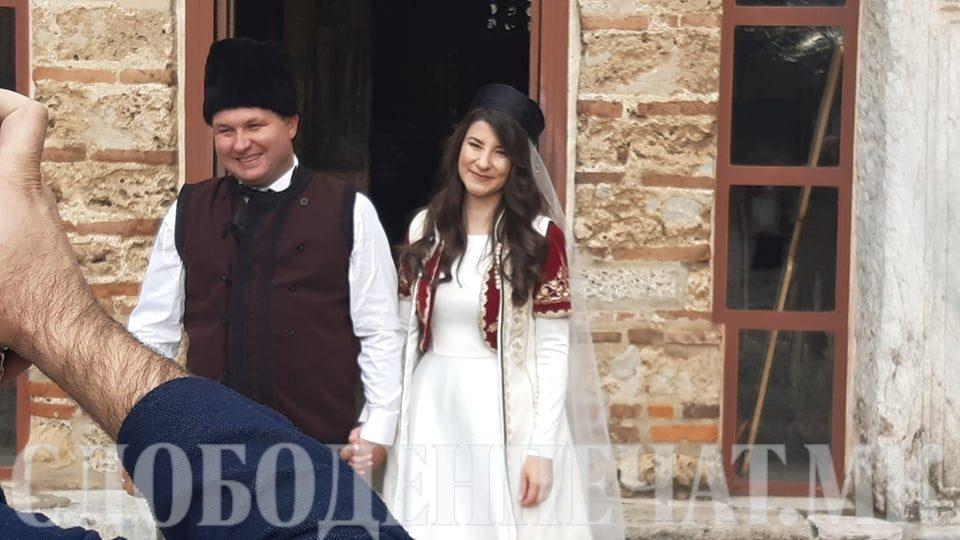 На Косово се ожени градоначалникот на Центар Богдановиќ