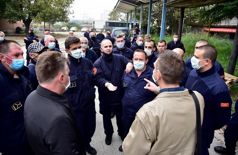Шилегов не се договори со пожарникарите – најавија секојдневни протести