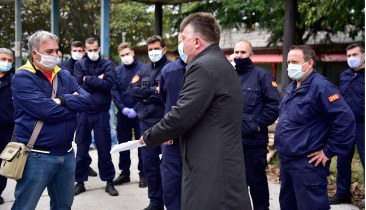 Односот на Шилегов со пожарникарите е крајно понижувачки и без трунка емпатија за луѓе кои го  ризикуваат свој живот