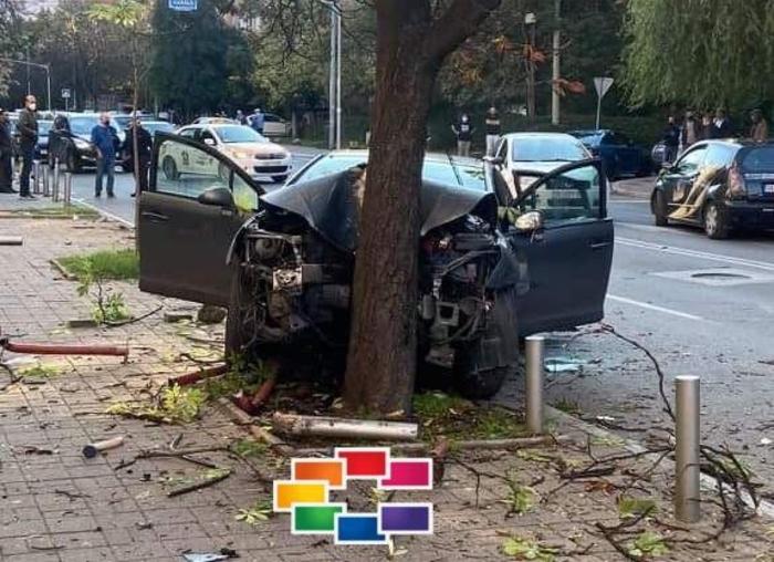 """Возач повредил неколкумина на """"Рузвелтова"""""""