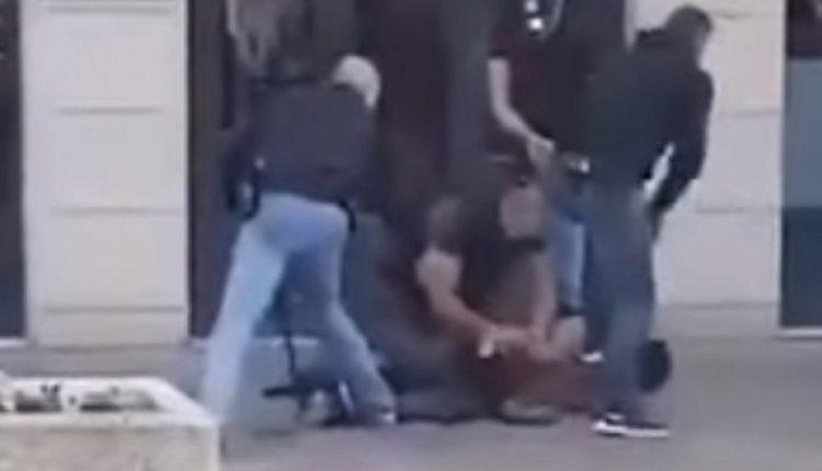 Вознемирувачко: Објавена снимка од ликвидација на напаѓачот во Авињон