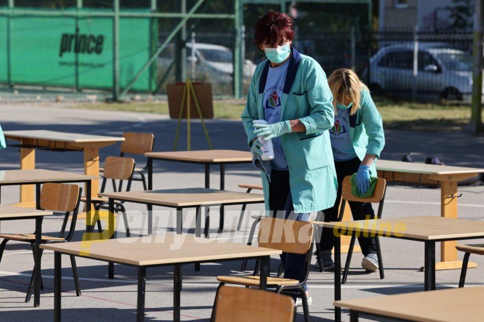 Од понеделник вакцинирање на вработените во училиштата, термини ќе добијат и вработените на факултетите
