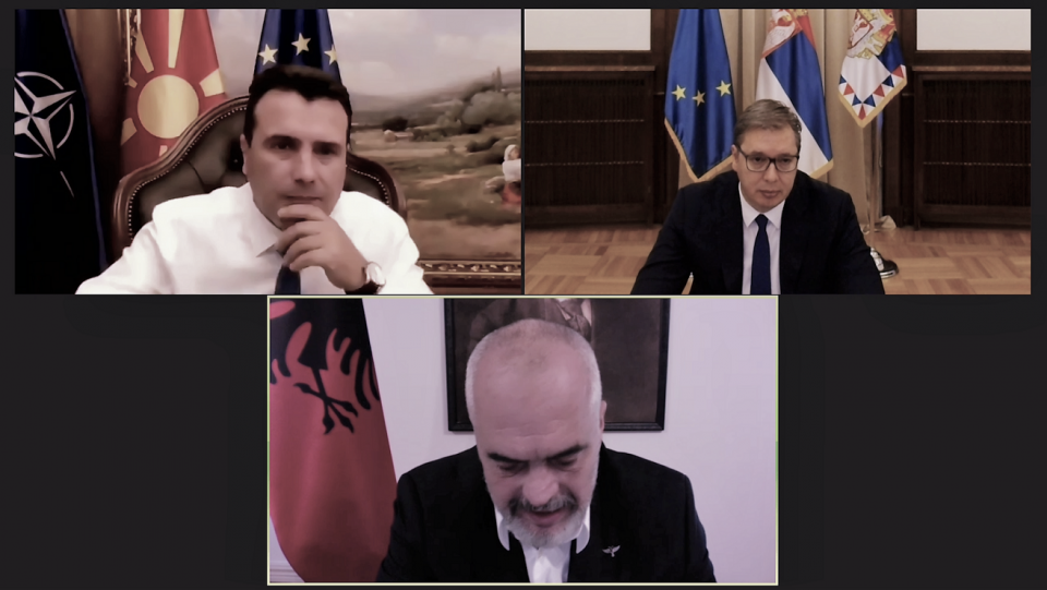 Заев, Вучиќ и Рама: Иницијативата за регионална соработка е добра основа за Самитот во Софија