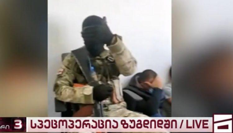 Заложничка драма во Грузија: Вооружен напаѓач држи луѓе во банка и бара пола милион долари