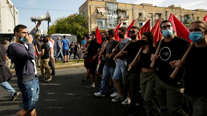 Протести пред судот во Атина: Продолжува изрекувањето казни за членовите на Златна зора