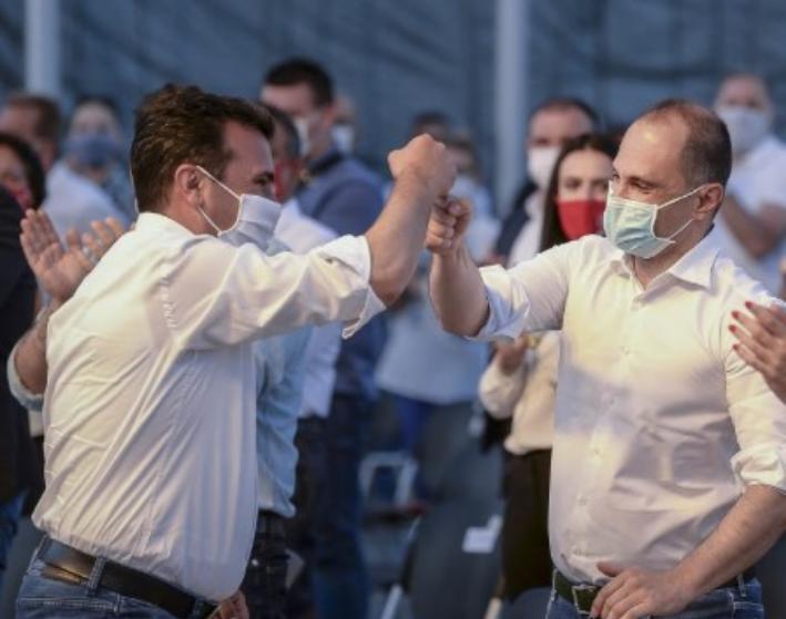 Милошоски: Зошто доцни вакцинацијата во Македонија, заради неспособноста на Венко и Заев!