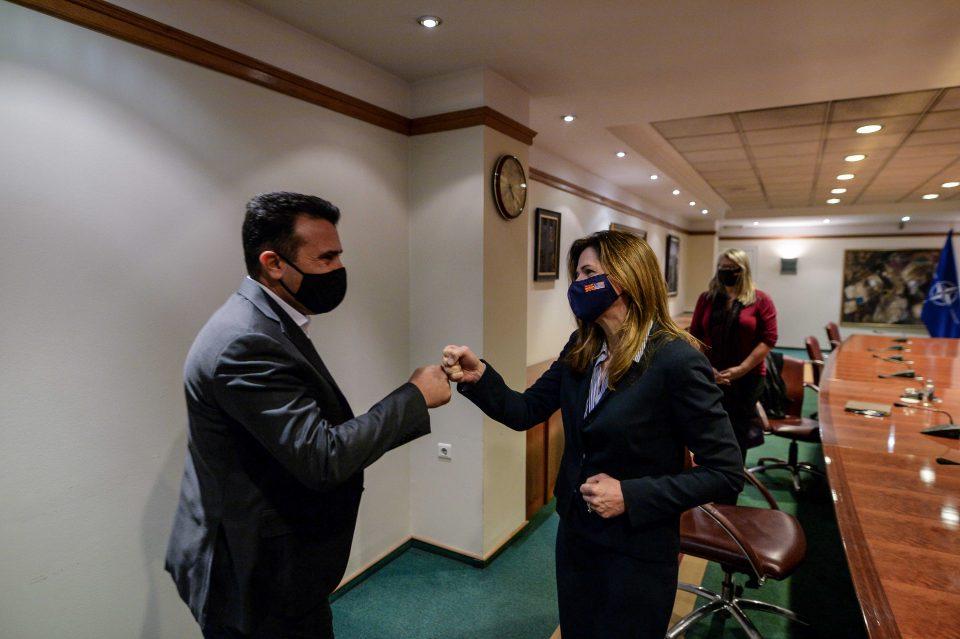 Средба Заев-Брнз: Заедничка цел е Македонија да ги почне преговорите со ЕУ до крајот на оваа година