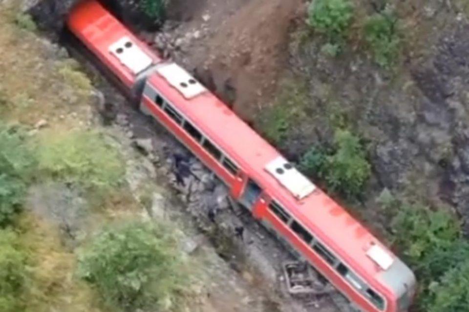 Во Србија се преврте воз што пренесуваше амонијак