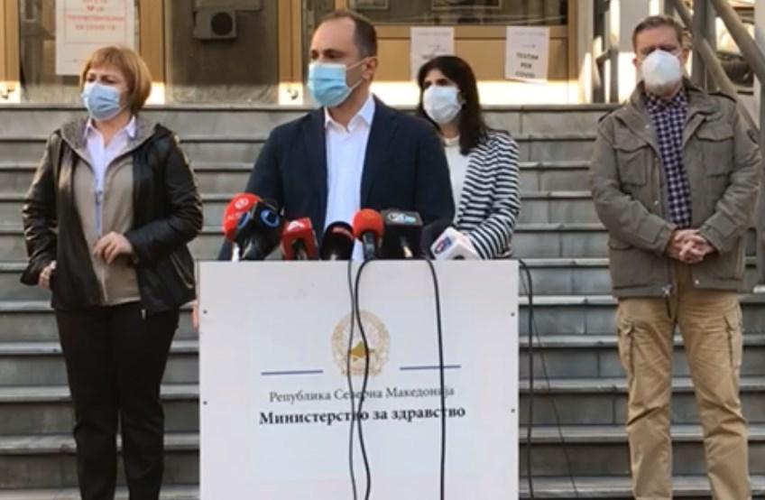Филипче: Ситуацијата е сериозна, имаме зголемување на притисокот врз ковид центрите