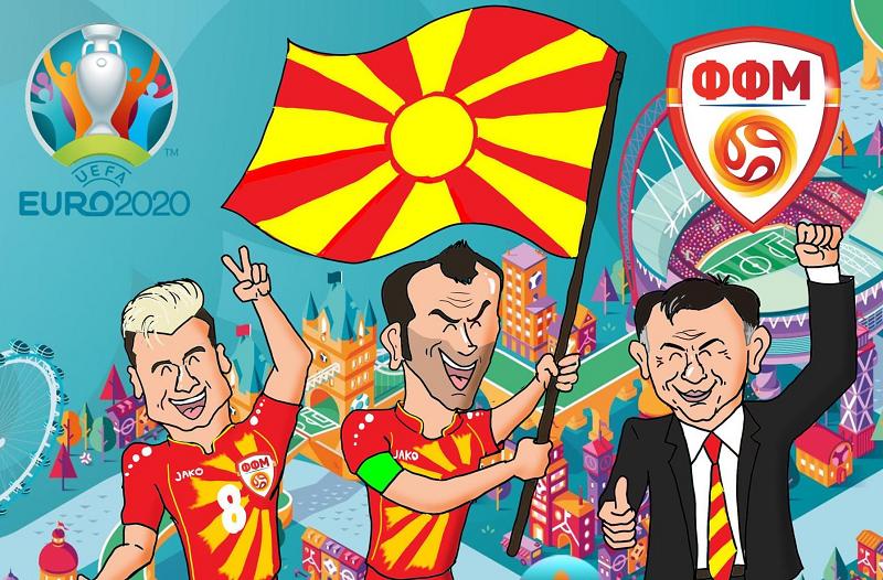 Солзите на Мрме, Пандев, Елмас, Тричковски: Емотивно видео од УЕФА за македонскиот фудбал