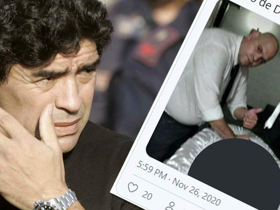 Убиен човекот кој направи селфи со мртвото тело на Марадона