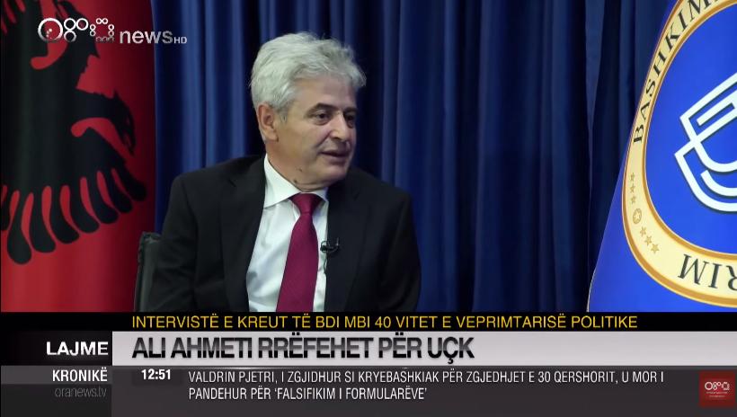 """Ахмети: Со СДСМ е договорено """"Диво насеље"""" да оди на повторно судење"""