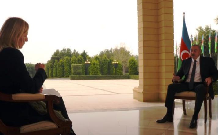 Претседателот на Азербејџан посрамоти британска новинарка