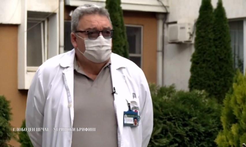 Д-р Стојанов: Свадби не треба да има, зашто нема доволно вакцинирани и луѓето сè уште умираат од ковид